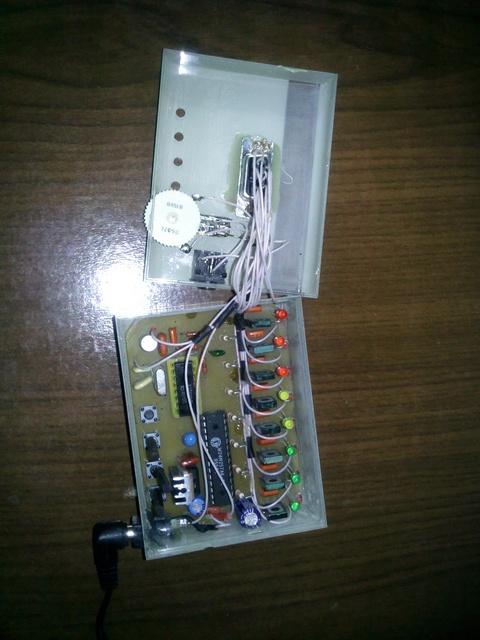 ЦМУ/СДУ на микроконтроллере (8 каналов) .